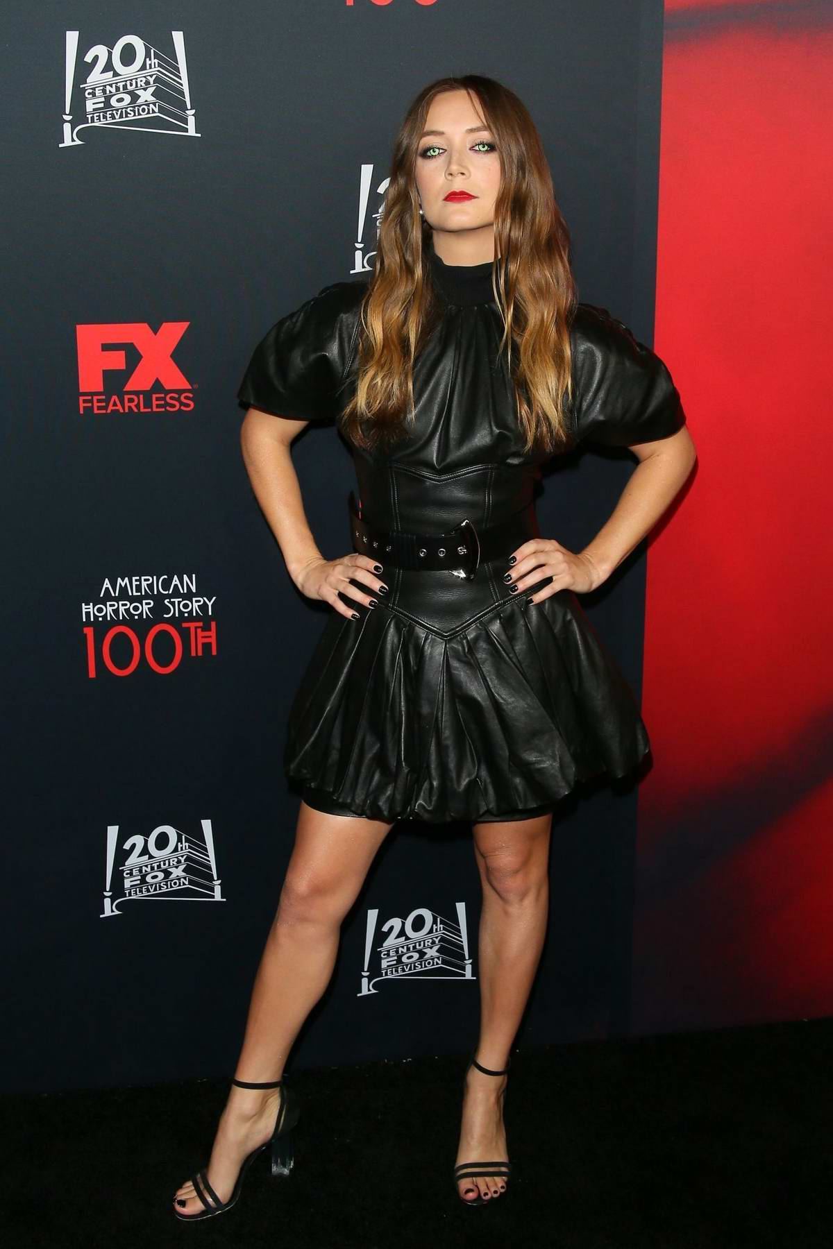 Billie Lourd attends FX's 'American Horror Story' 100th Episode Celebration at Hollywood Forever in Los Angeles