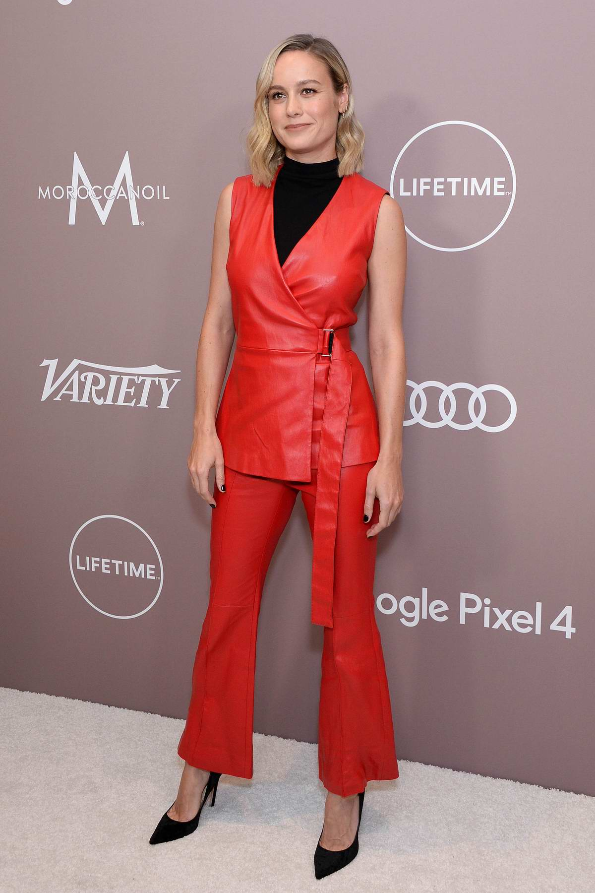 Brie Larson attends the Variety's 2019 Power of Women Presented by Lifetime at The Beverly Wilshire in Los Angeles