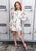 Brittany Snow visits the Build Series to discuss the Fox series 'Almost Family' at Build Studio in New York City