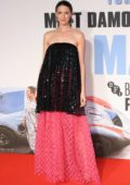 Caitriona Balfe attends 'Le Mans '66' Premiere during the 63rd BFI London Film Festival in London, UK