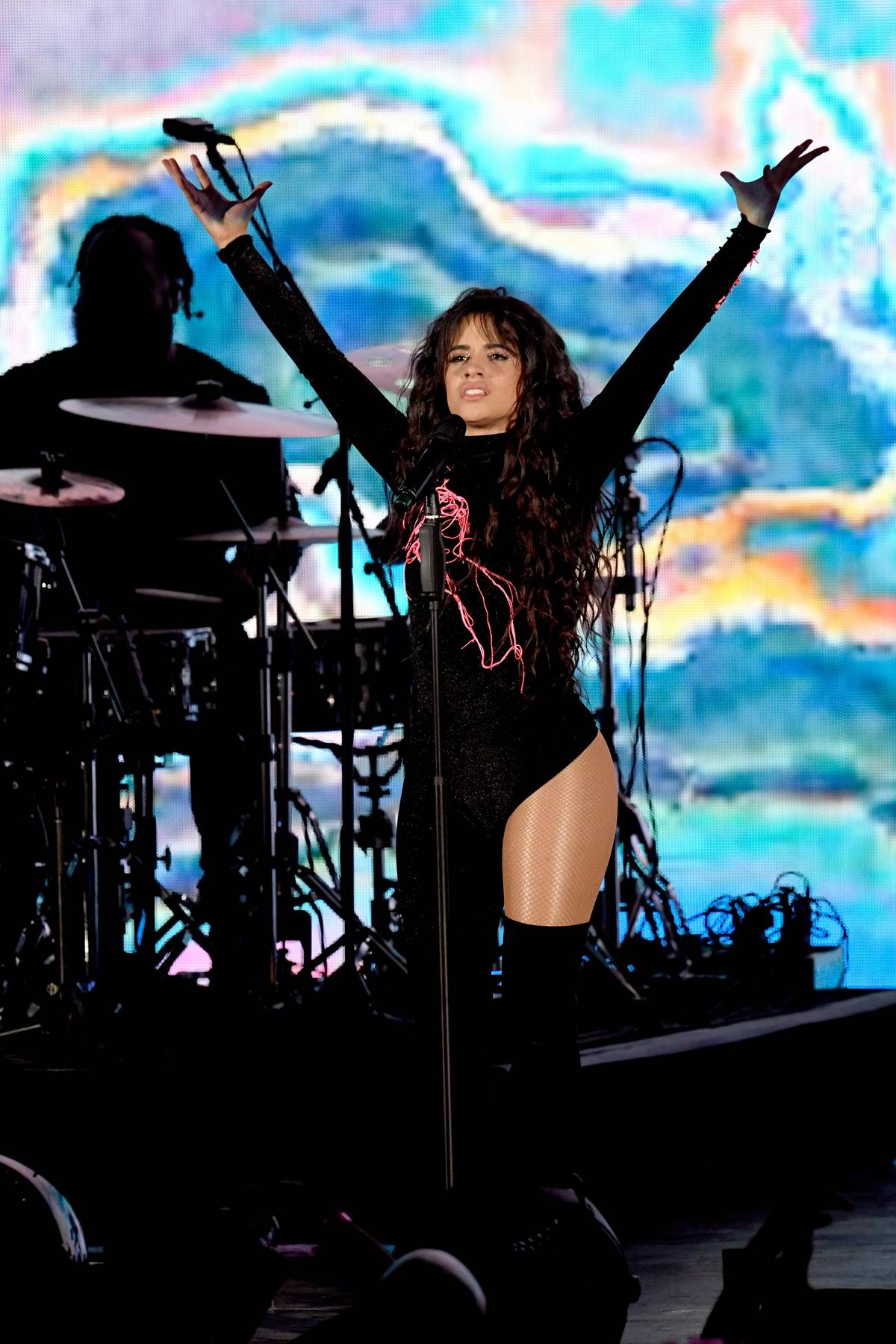 Camila Cabello performs live at AT&T's 'We Can Survive Concert' in Los Angeles