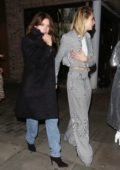 Cara Delevingne and Ashley Benson attend Cara Delevingne x Nasty Gal Launch Party in London, UK