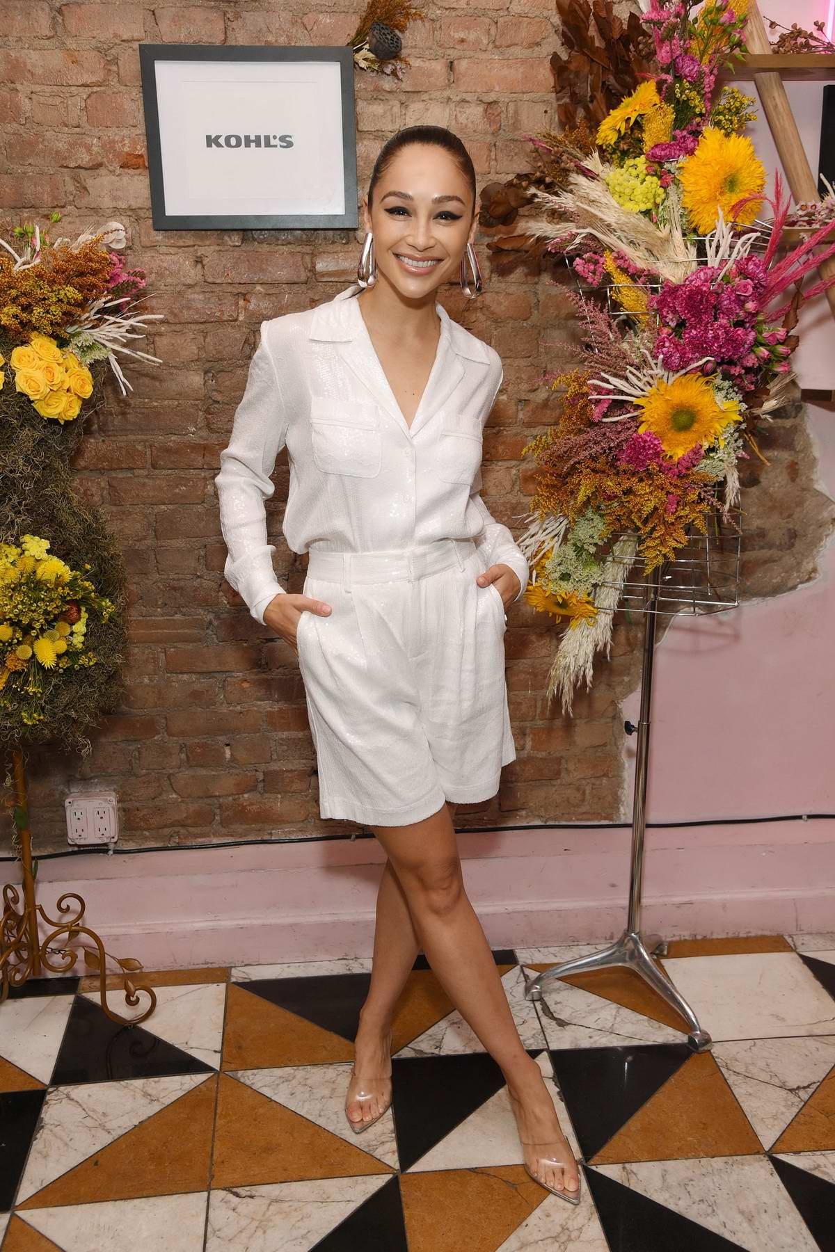 Cara Santana attends Apt. 9 Brand Launch at Kohl's in New York City