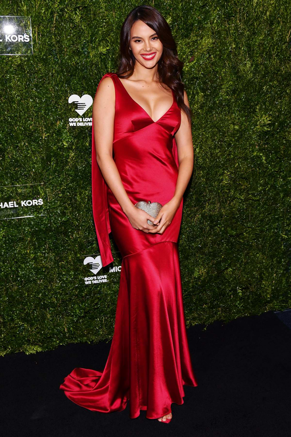 Catriona Gray attends God's Love We Deliver 13th Annual Golden Heart Awards Celebration at Cipriani South Street in New York City