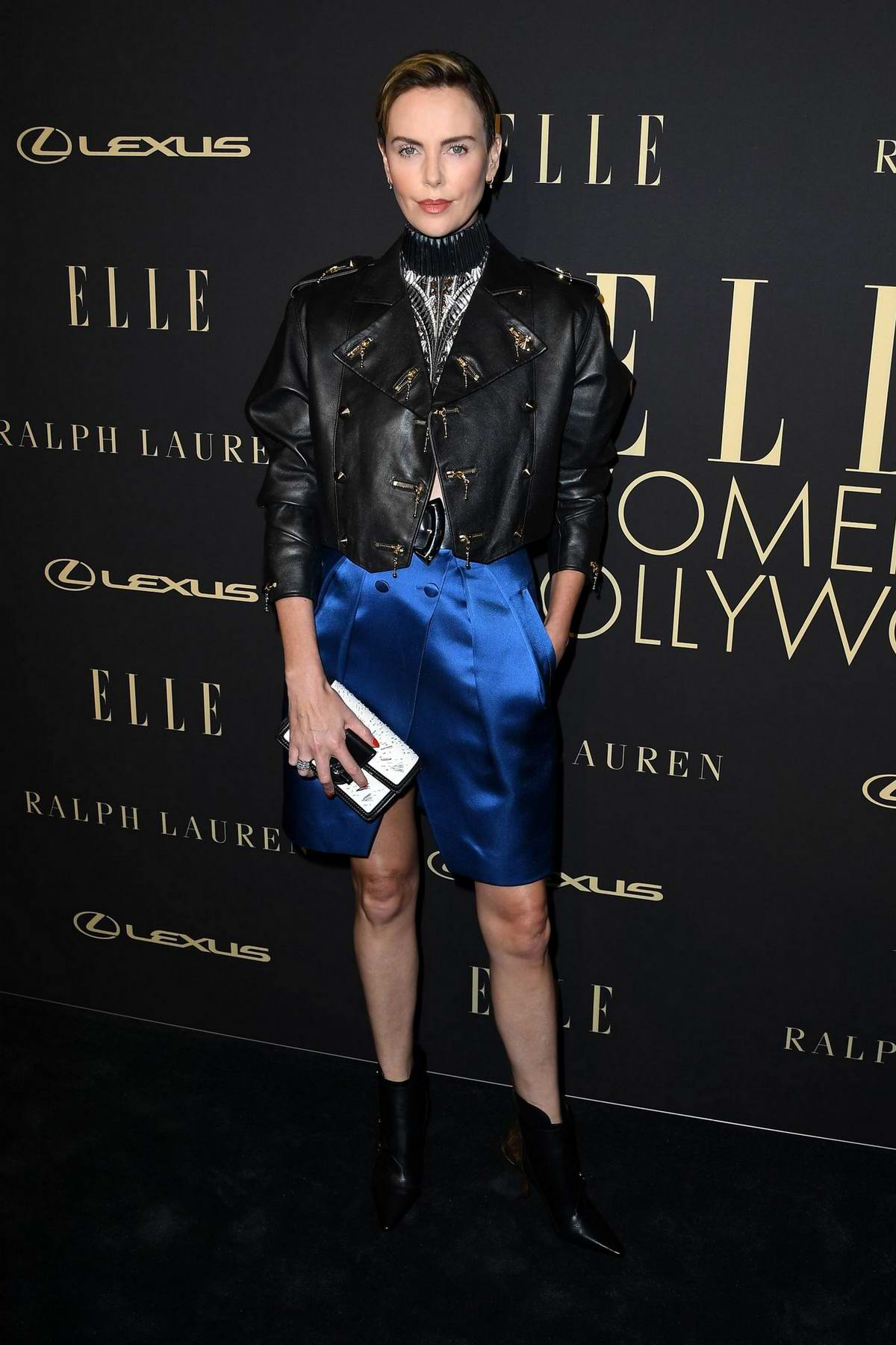 Charlize Theron attends ELLE's 26th Annual Women In Hollywood Celebration at The Four Seasons Hotel in Beverly Hills, California