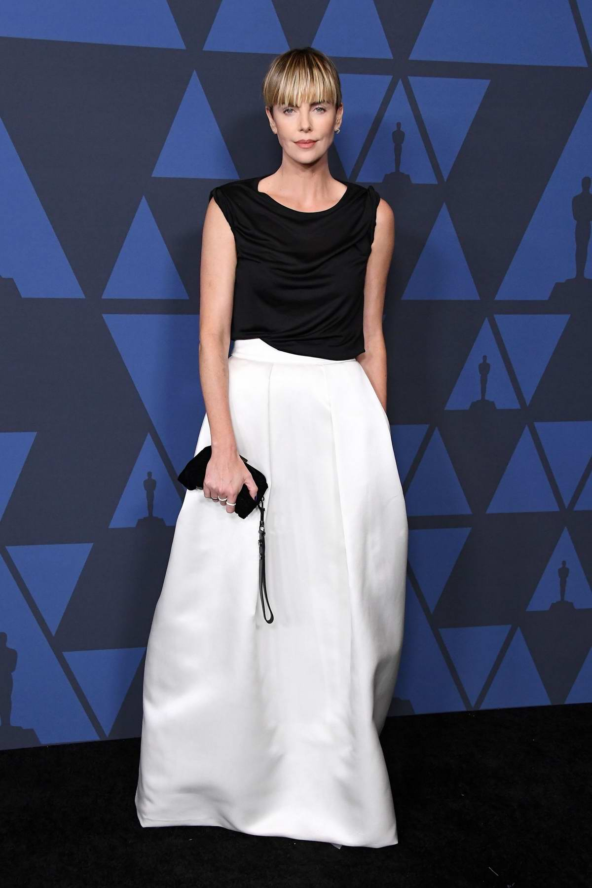 Charlize Theron attends the Academy of Motion Picture Arts and Sciences' 11th Annual Governors Awards in Hollywood, California
