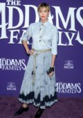 Charlize Theron attends the Premiere of 'The Addams Family' at Westfield Century City AMC in Los Angeles