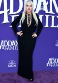 Christina Aguilera attends the Premiere of 'The Addams Family' at Westfield Century City AMC in Los Angeles