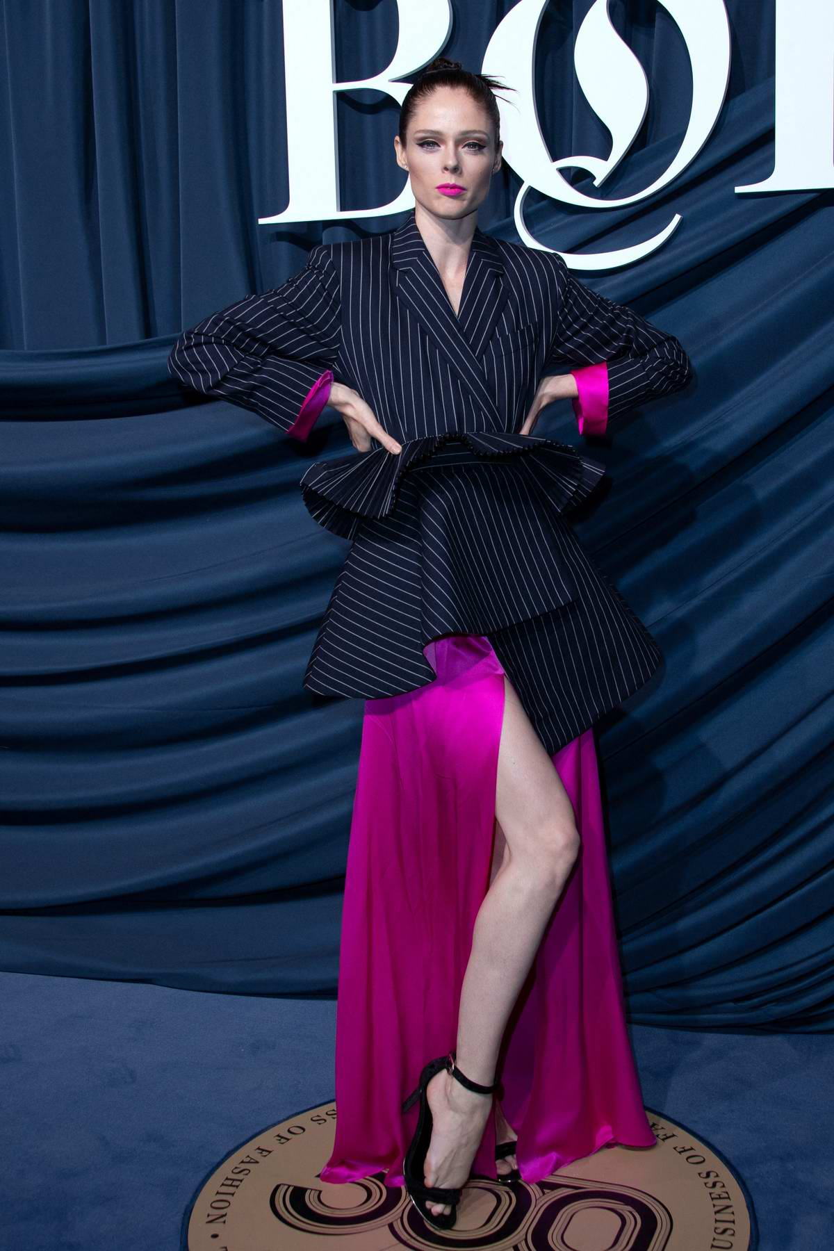 Coco Rocha attends the BoF 500 Gala during Paris Fashion Week SS 2020 in Paris, France