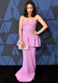 Constance Wu attends the Academy of Motion Picture Arts and Sciences' 11th Annual Governors Awards in Hollywood, California