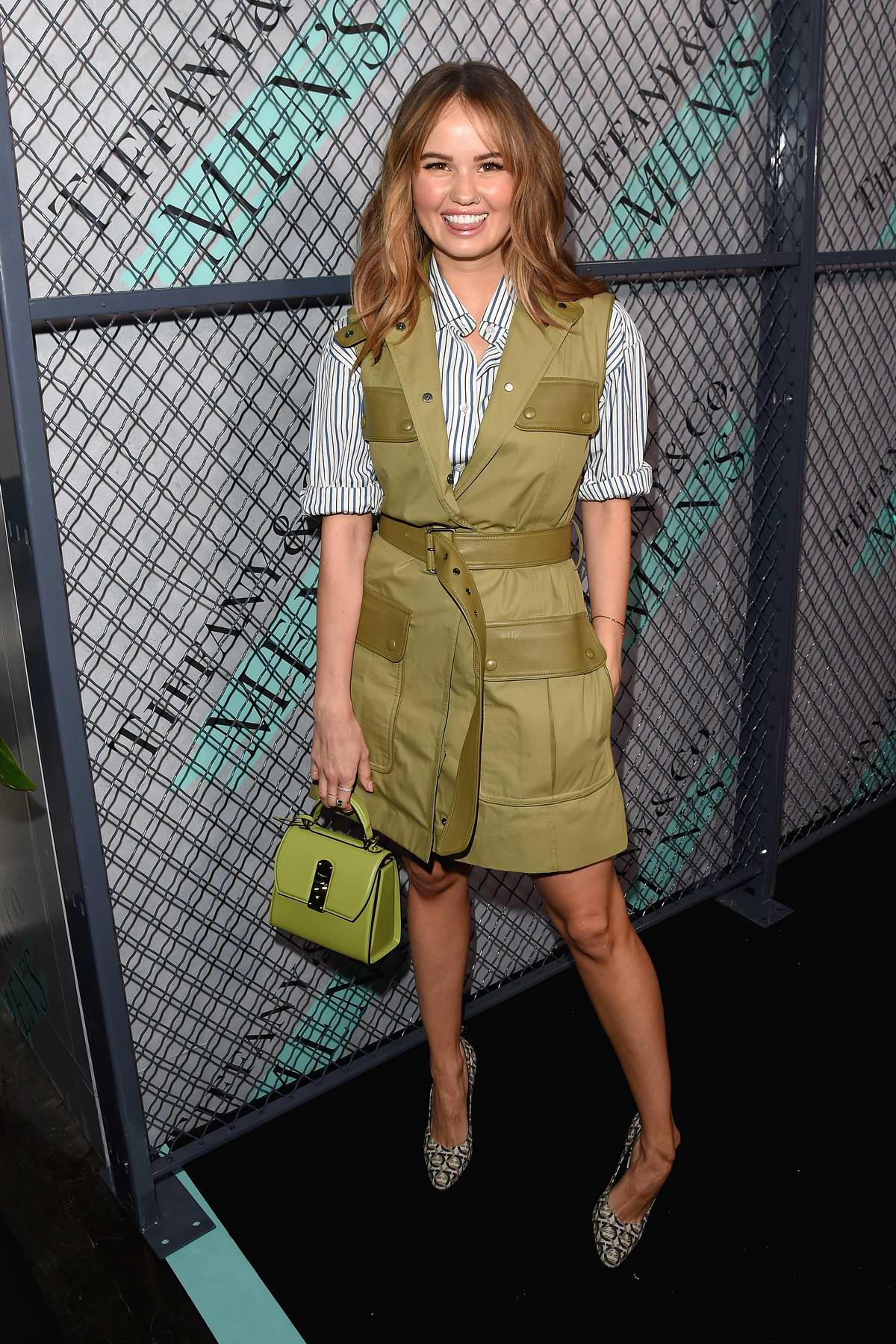Debby Ryan attends the launch of new Tiffany and Co Men's Collection at Hollywood Athletic Club in Hollywood, California