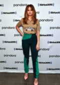 Debby Ryan visits SiriusXM in New York City