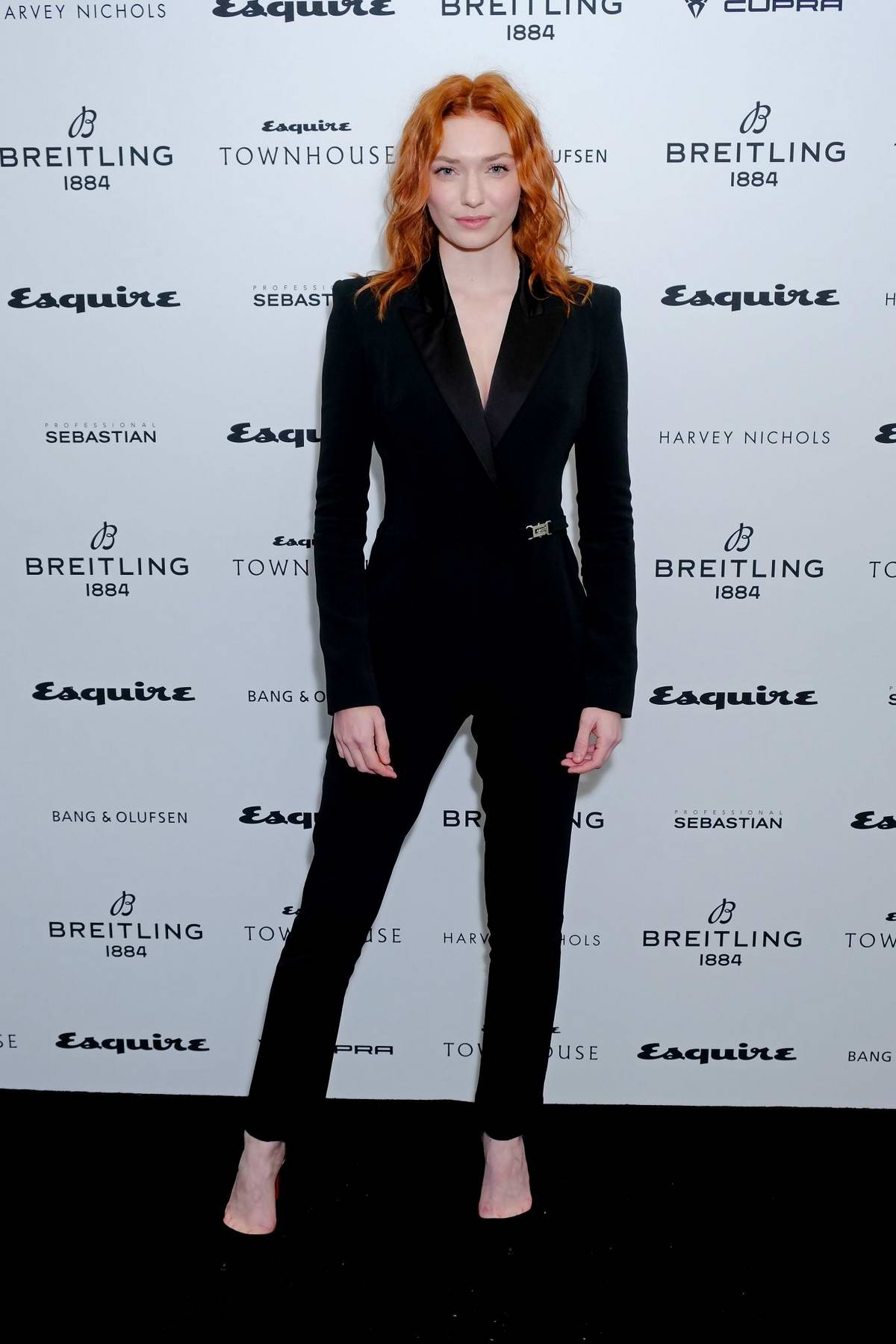 Eleanor Tomlinson attends Esquire Townhouse with Breitling Launch in London, UK