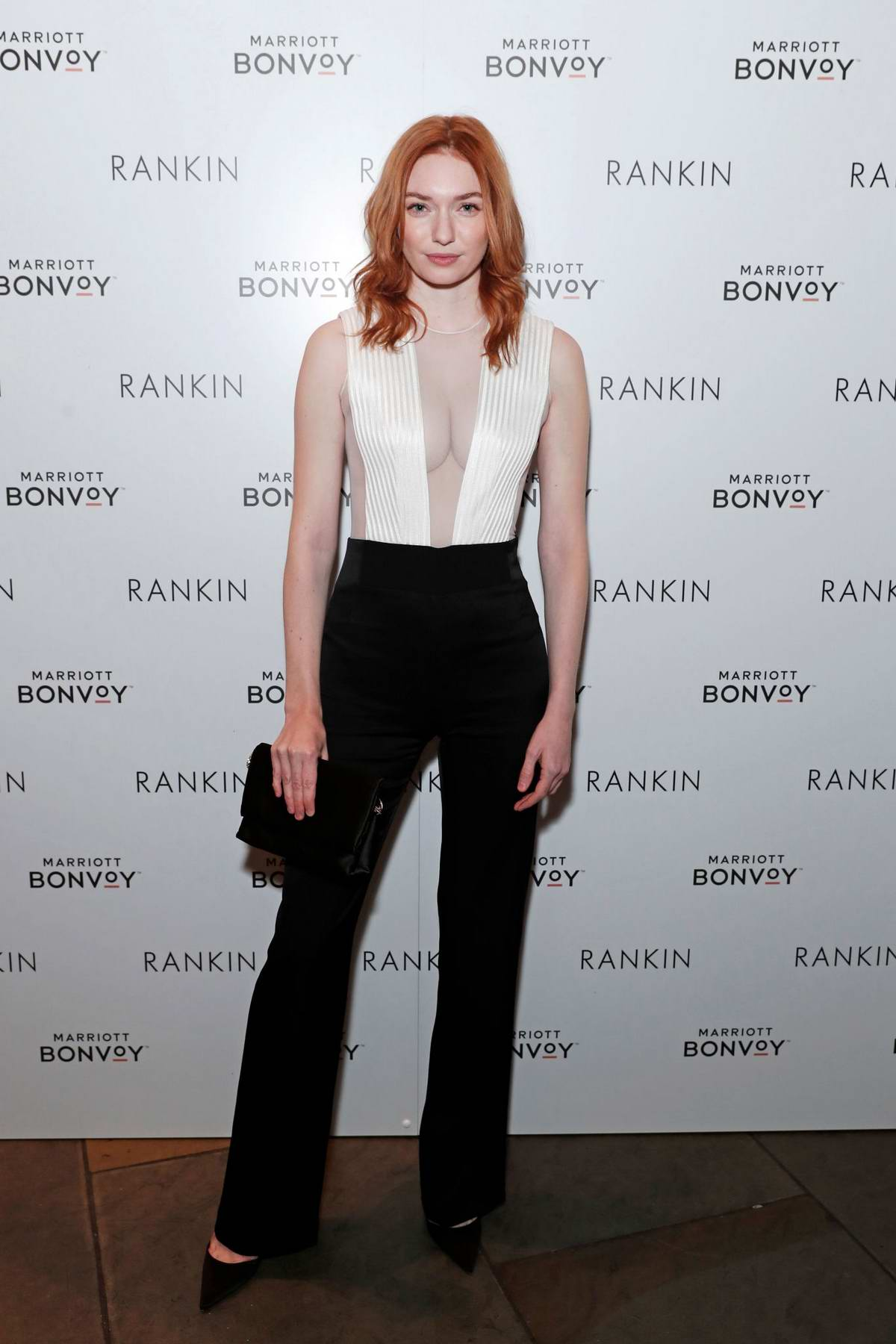Eleanor Tomlinson attends the launch of 'Loyalty & Love' in London, UK
