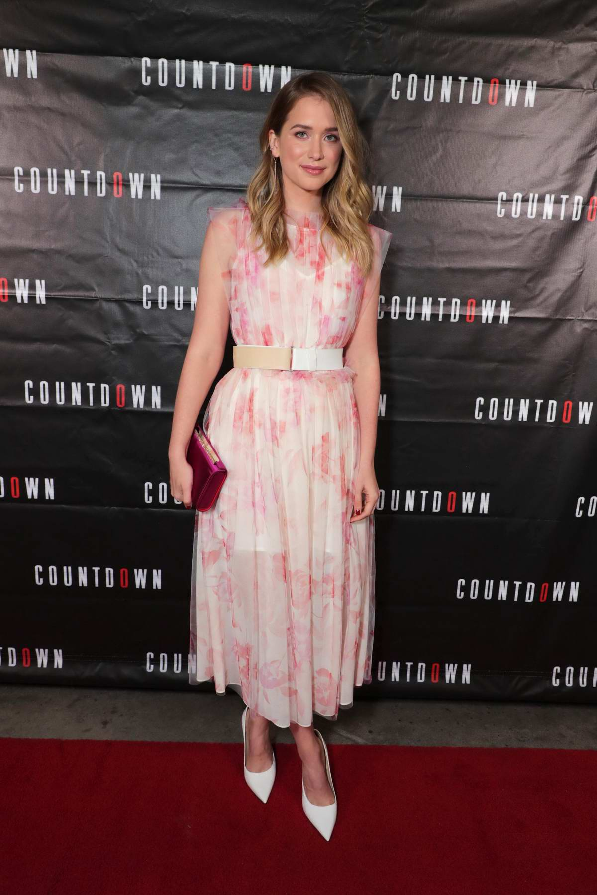 Elizabeth Lail attends a special screening of 'Countdown' in Los Angeles