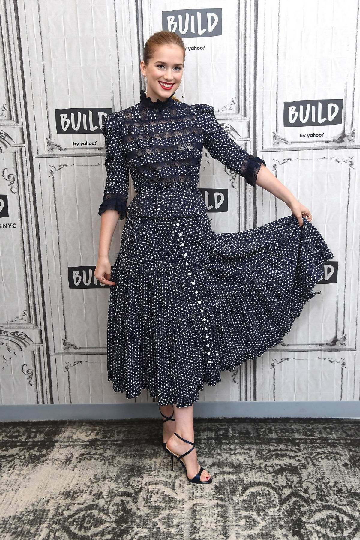 Elizabeth Lail visits the Build Series to discuss her new film 'Countdown' at Build Studio in New York City