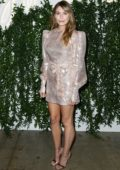 Elizabeth Olsen attends 'Sorry For Your Loss' Season 2 Premiere at NeueHouse Hollywood in Los Angeles