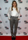 Elizabeth Olsen promotes 'Sorry for Your Loss', Season 2 on BuzzFeed's 'AM To DM' in New York City