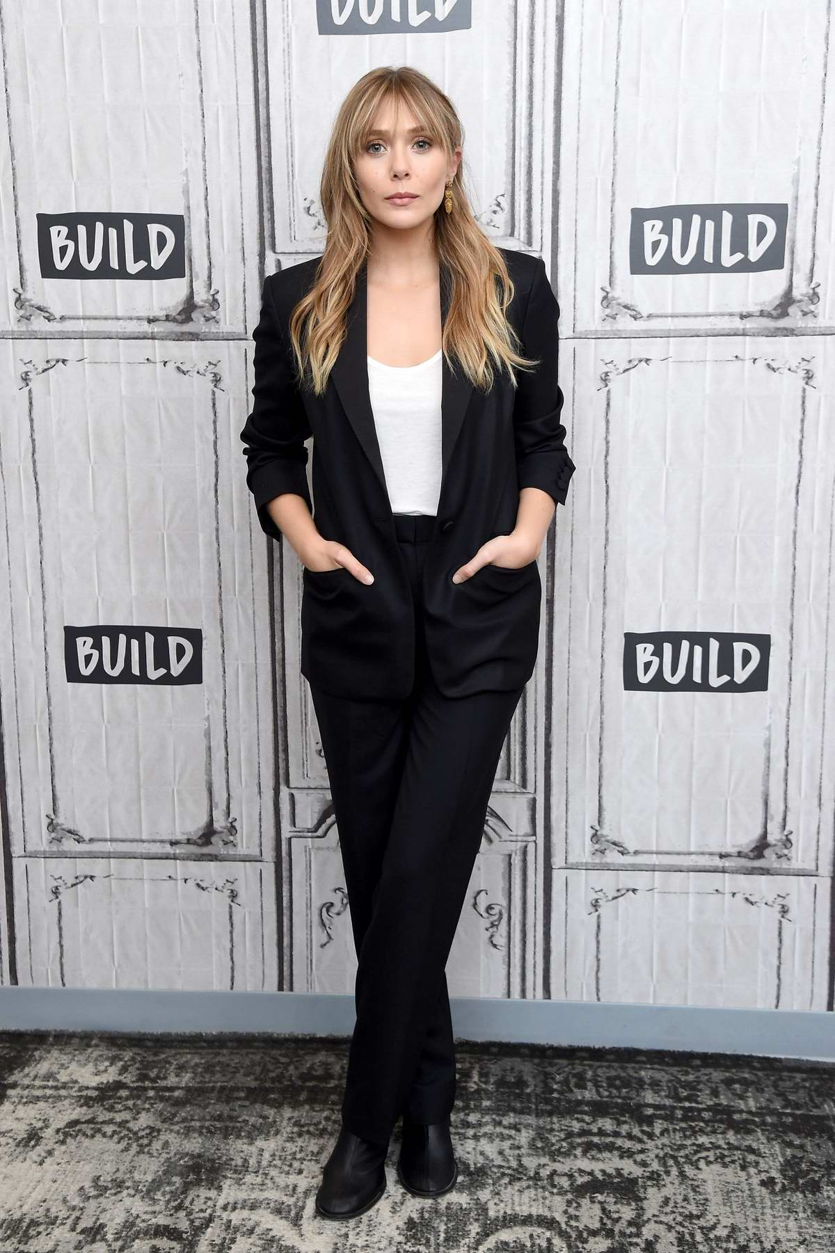 Elizabeth Olsen visits Build Series to discuss 'Sorry for Your Loss', Season 2 at Build Studios in New York City