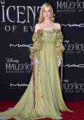 Elle Fanning attends the World Premiere of Disney's 'Maleficent: Mistress of Evil' at El Capitan Theatre in Los Angeles