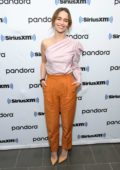 Emilia Clarke visits SiriusXM Town Hall with the cast of 'Last Christmas', New York City