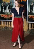 Emma Stone attends 'Zombieland: Double Tap' premiere at Regency Village Theater in Westwood, California
