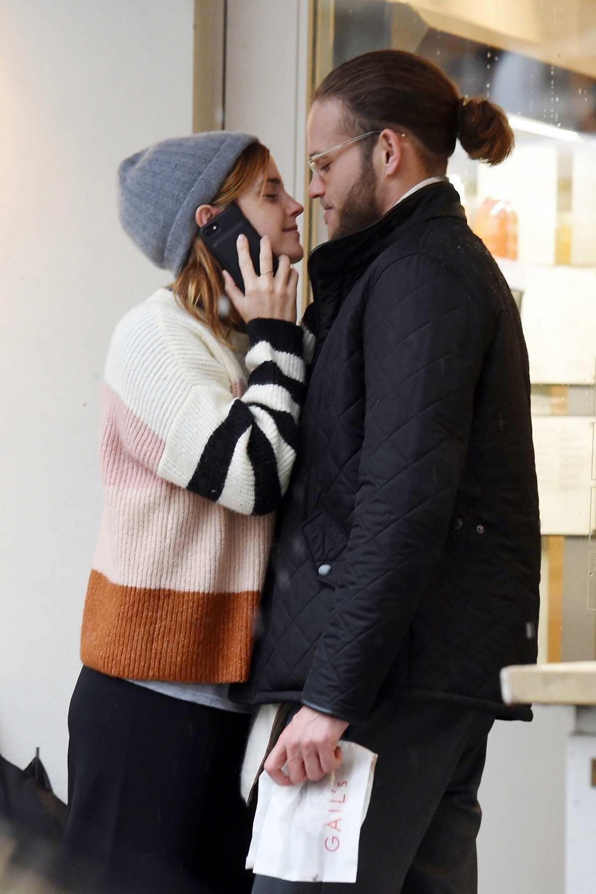 Kelly Brook escapes to Greece with fiancé David McIntosh