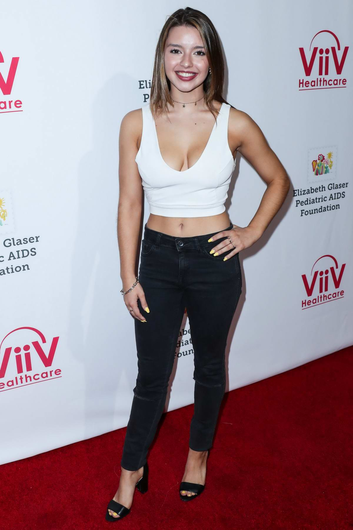 Fatima Ptacek attends the 30th Annual A Time For Heroes Family Festival at Smashbox Studios in Culver City, California