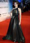 Felicity Jones attends 'The Aeronauts' premiere during the BFI London Film Festival 2019 in London, UK