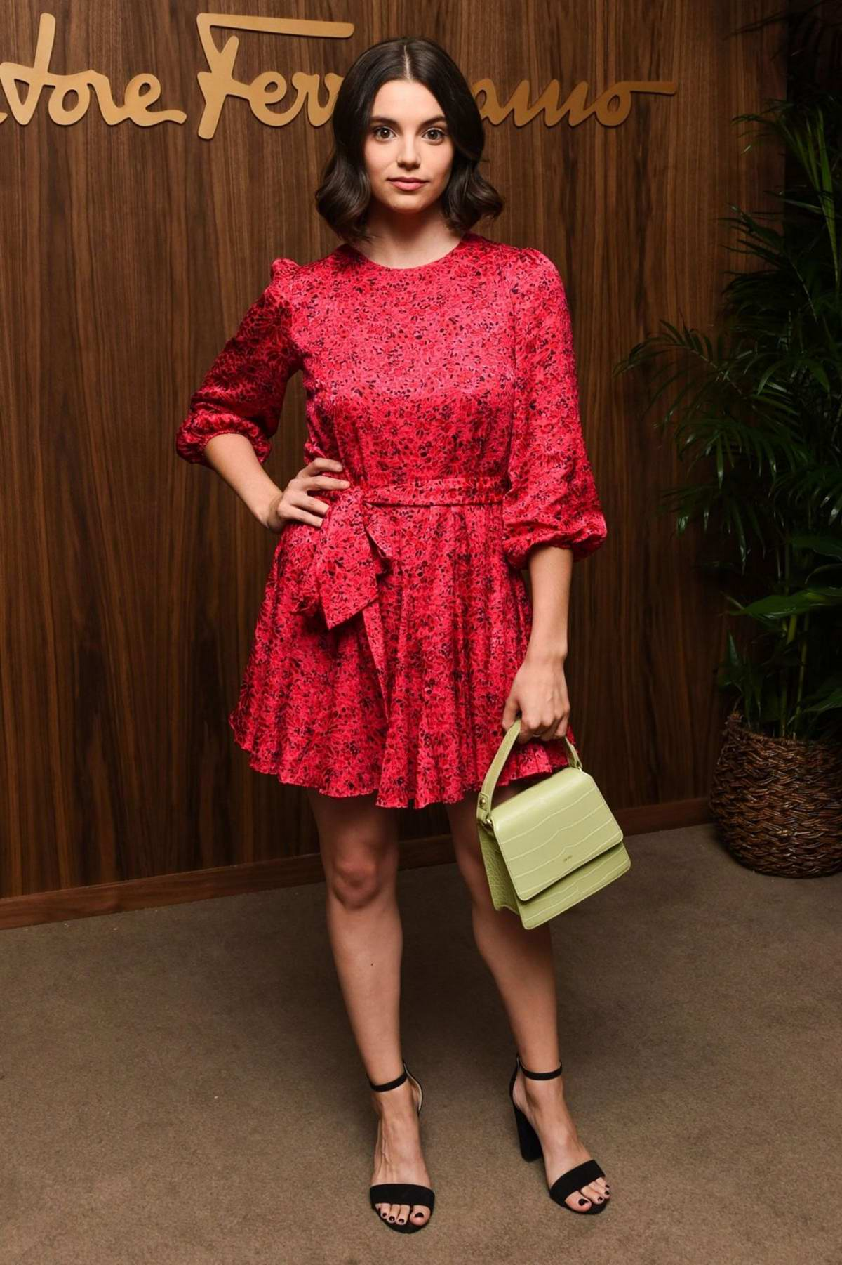 Francesca Reale attends ELLE x Ferragamo Hollywood Rising Party at Sunset Tower in Los Angeles