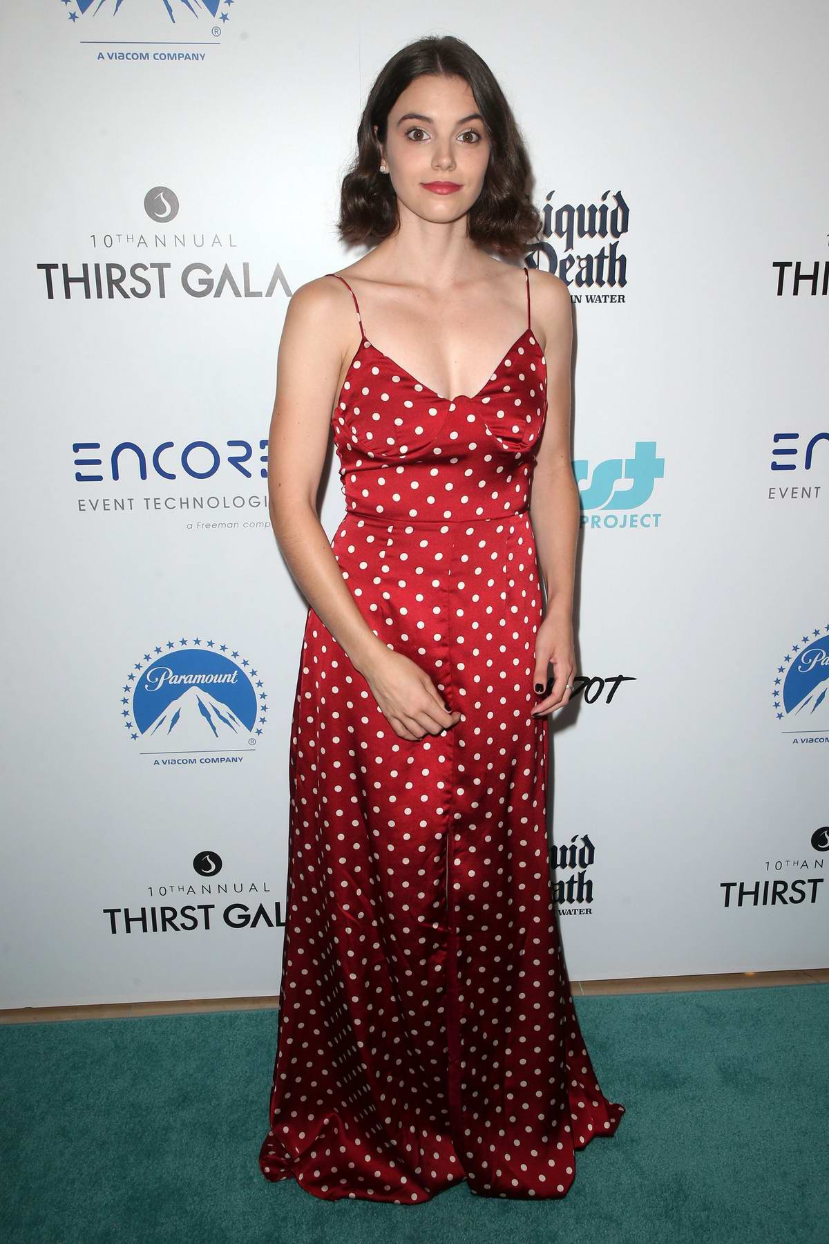 Francesca Reale attends the Thirst Project's 10th Annual Thirst Gala in Los Angeles
