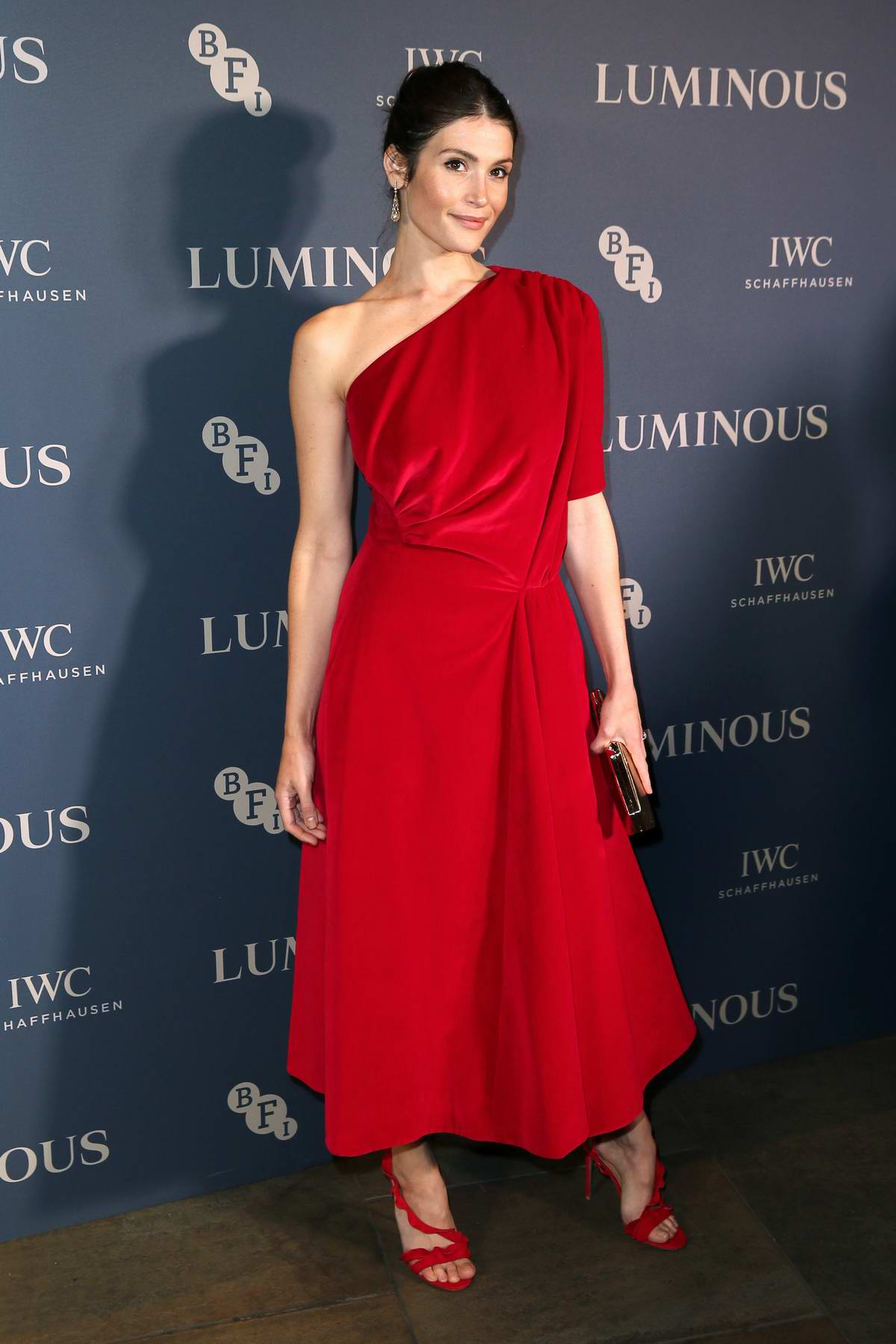 Gemma Arterton attends the Luminous BFI Gala Dinner and Auction in London, UK