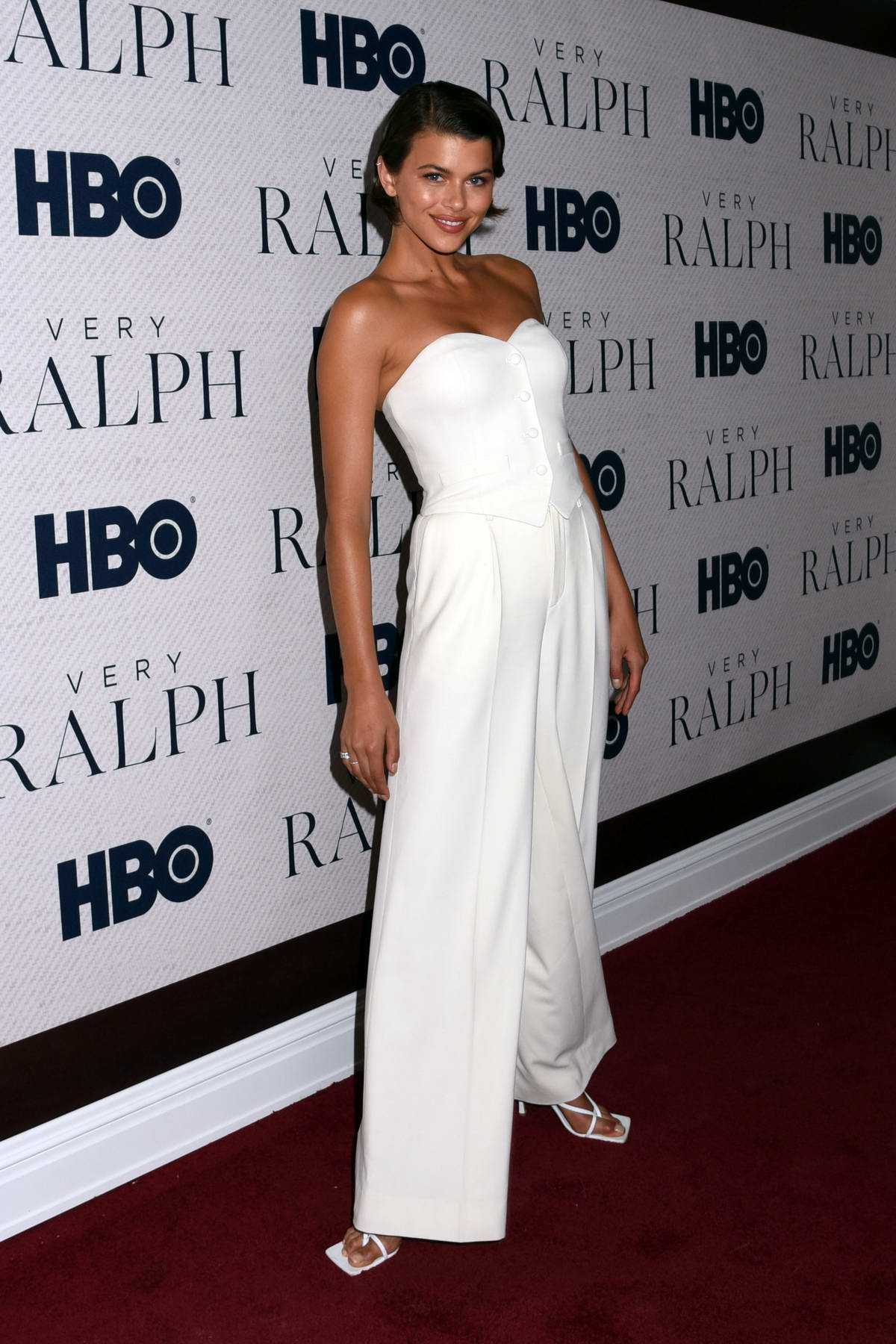 Georgia Fowler attends the World Premiere of HBO's 'Very Ralph' at the Metropolitan Museum of Art in New York City