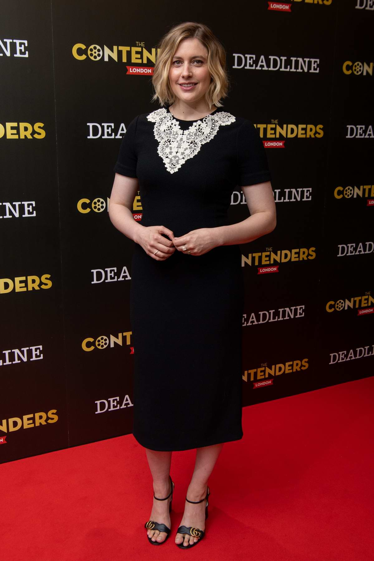 Greta Gerwig attends 'Little Women' film presentation at Ham Yard Hotel in London, UK