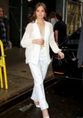 Hailee Steinfeld looks gorgeous in all white as she steps out in New York City