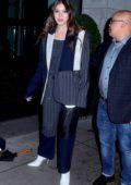 Hailee Steinfeld seen leaving the press junket for 'Dickinson' in New York City