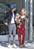 Hilary Duff and Matthew Koma step with their daughter to run a few errands in Los Angeles
