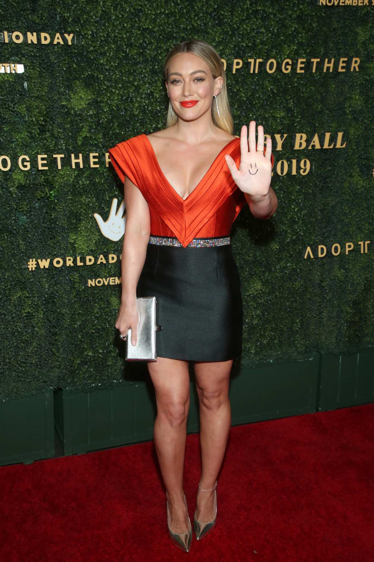 Hilary Duff attends The 5th Adopt Together Baby Ball Gala in Los Angeles