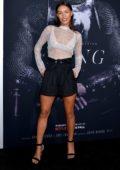 Ilfenesh Hadera attends 'The King' film premiere at SVA Theater in New York City