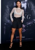 Ilfenesh Hadera attends 'The King' film premiere at SVA Theater in New York City