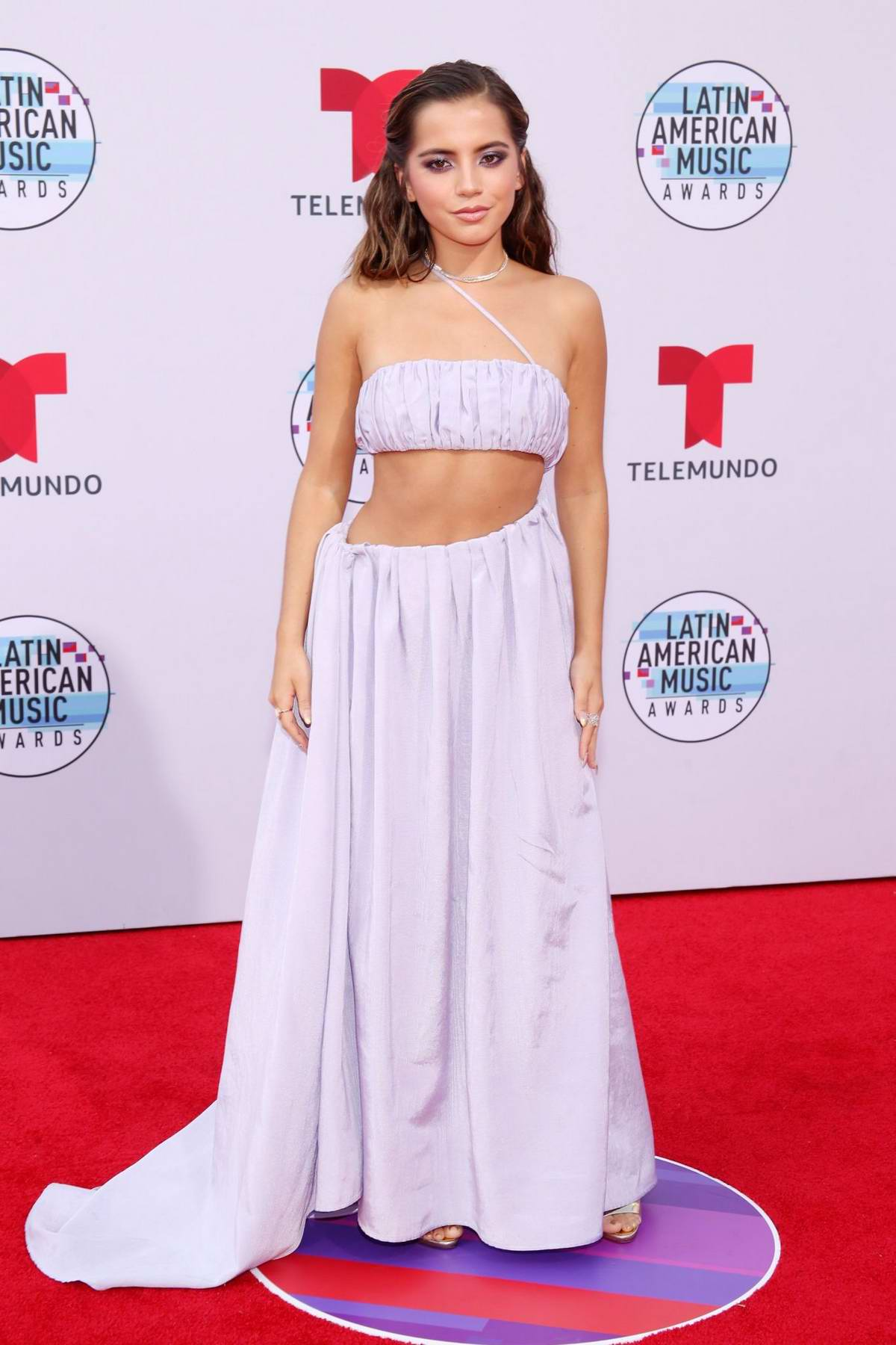 Isabela Moner attends the Latin American Music Awards 2019 at Dolby Theatre in Hollywood, California