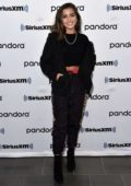 Isabela Moner sports a trendy look as she visits SiriusXM radio in New York City
