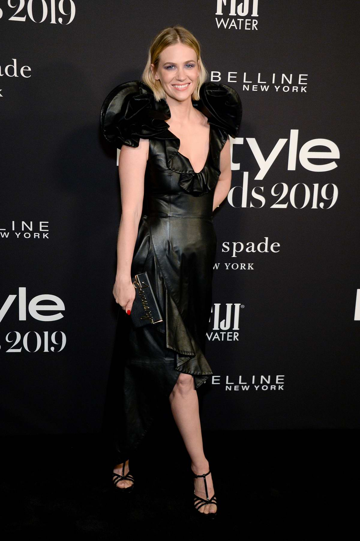 January Jones attends the 5th Annual InStyle Awards in Los Angeles