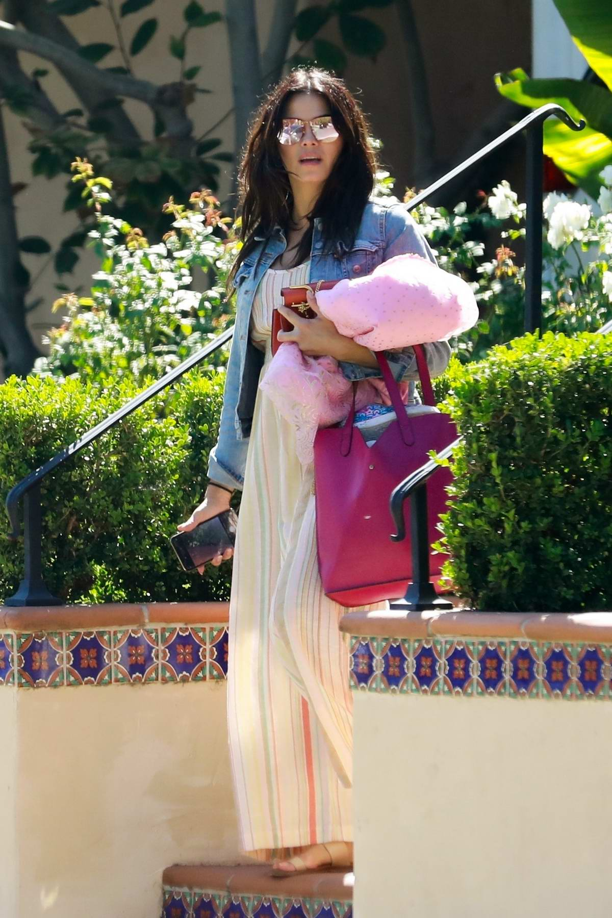 Jenna Dewan and Steve Kazee spotted as they go house hunting in Encino, California