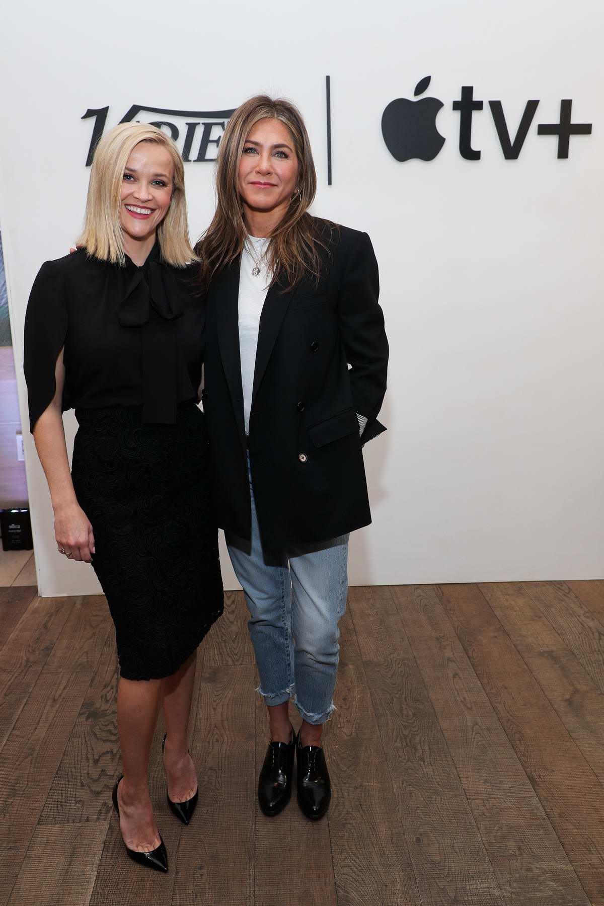 Jennifer Aniston and Reese Witherspoon attend Variety x Apple TV+ Collaborations Event in Los Angeles