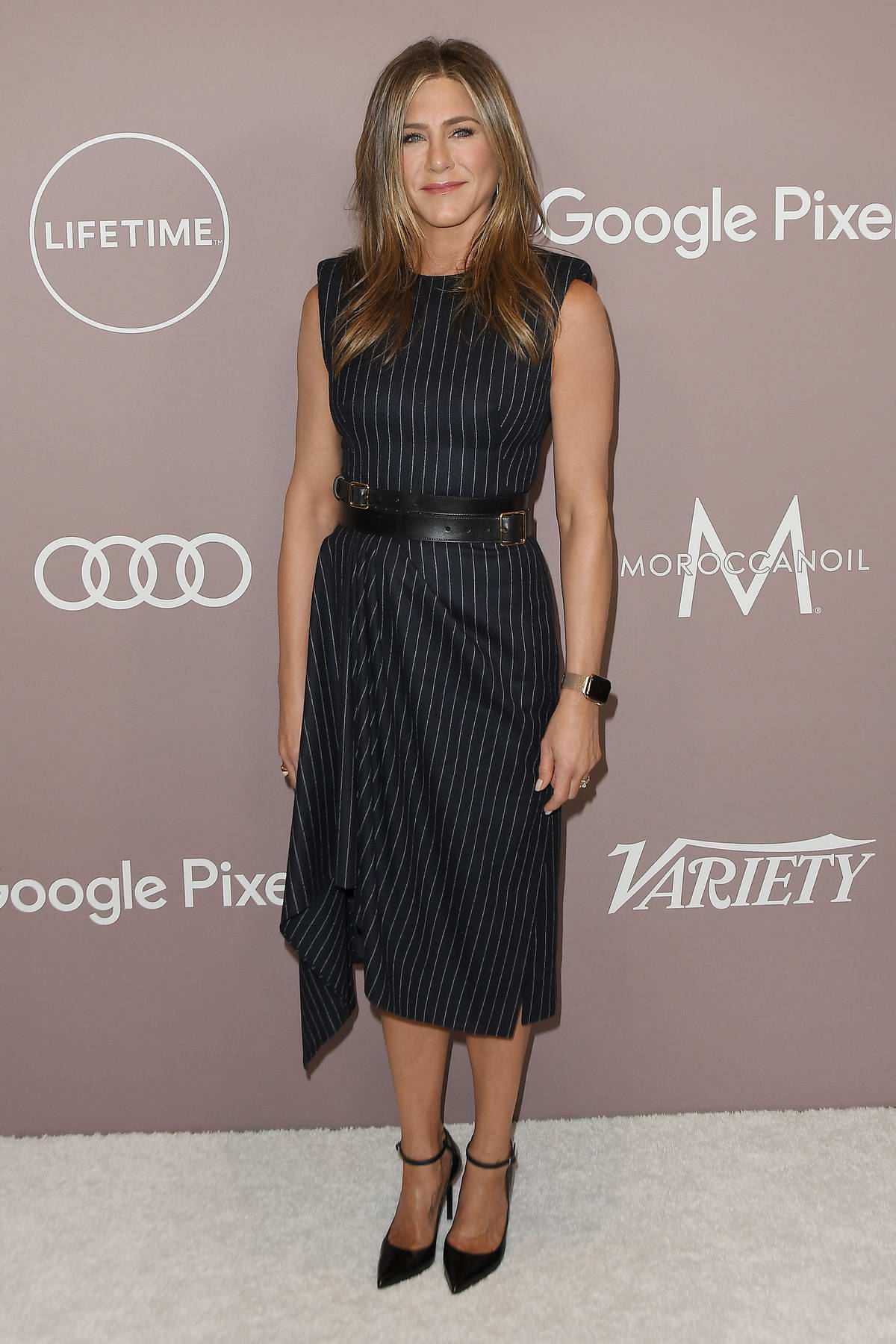 Jennifer Aniston attends the Variety's 2019 Power of Women Presented by Lifetime at The Beverly Wilshire in Los Angeles