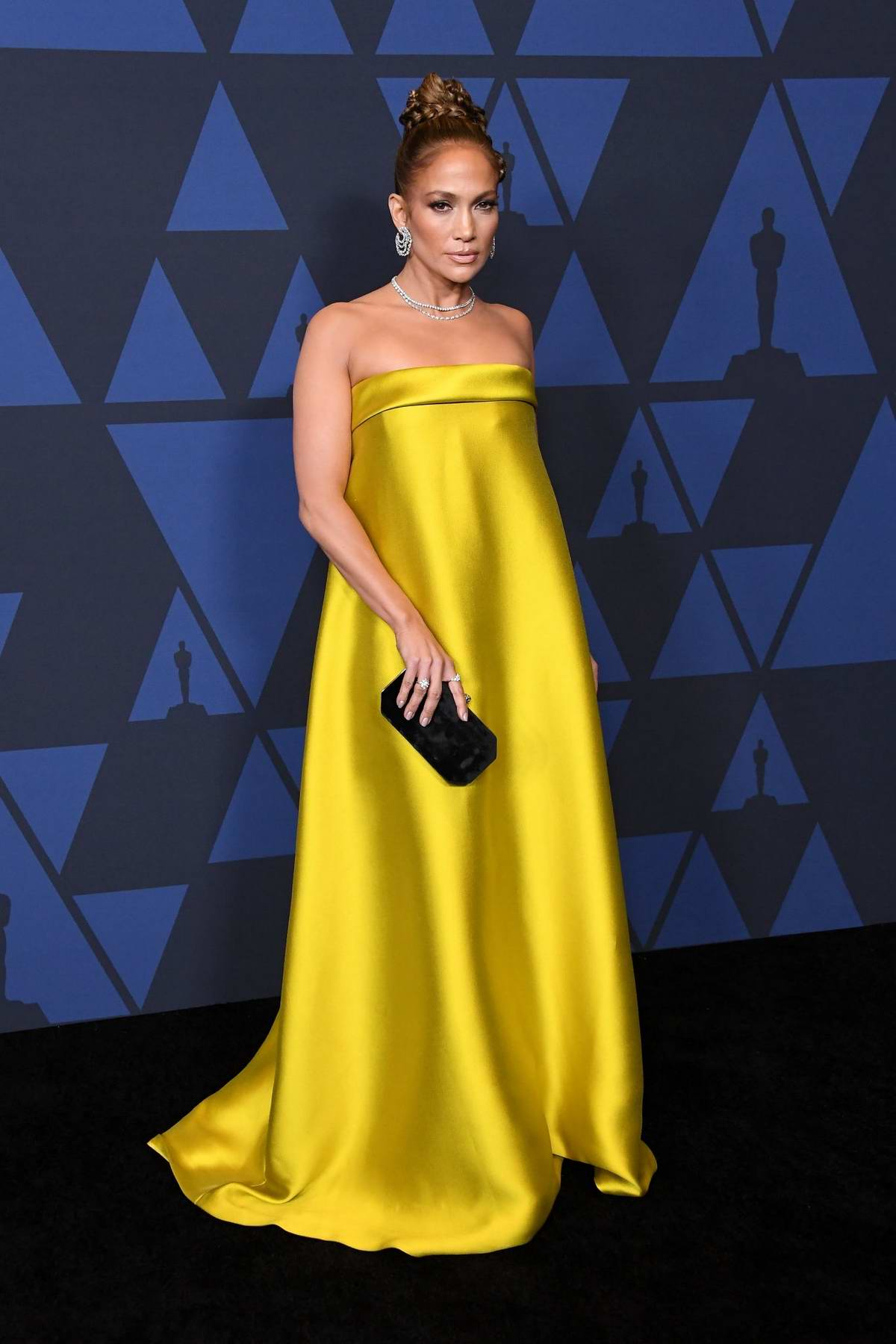 Jennifer Lopez attends the Academy of Motion Picture Arts and Sciences' 11th Annual Governors Awards in Hollywood, California