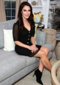 Jessica Lowndes visits Hallmark's 'Home & Family' in Los Angeles
