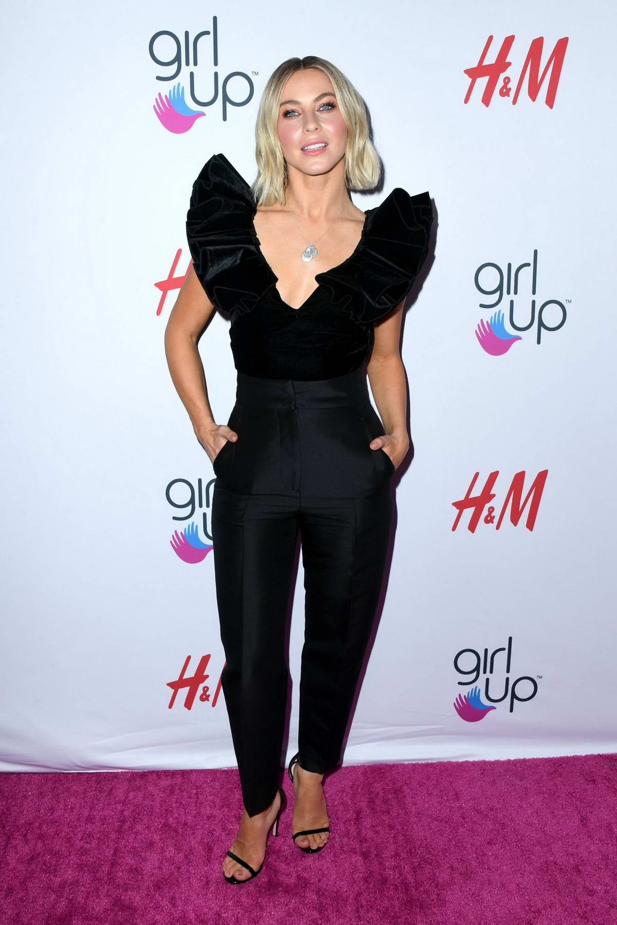 Julianne Hough attends the 2nd Annual Girl Up #GirlHero Awards at the Beverly Wilshire Hotel in Beverly Hills, Los Angeles