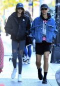 Kaia Gerber heads to the Gym with Tommy Dorfman in New York City